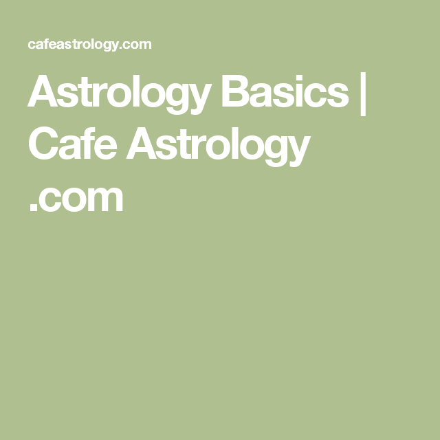 Compatability Chart For Signs Cafe Astrology