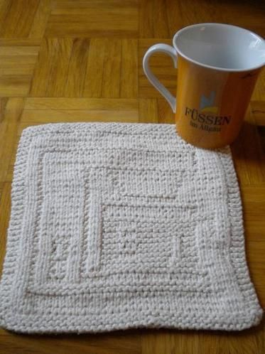 Coffee Maker | Dishcloth knitting patterns, Knitting ...
