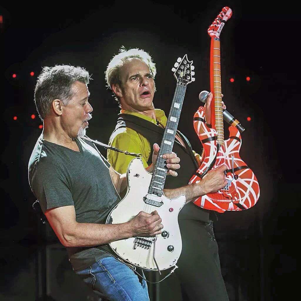 Pin Van Tom Op Van Halen Band Muziek Foto S