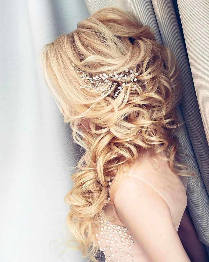 18 Beautiful Wedding Hairstyles Down For Brides And: 11 Beautiful Wedding Hairstyles Down For Brides And