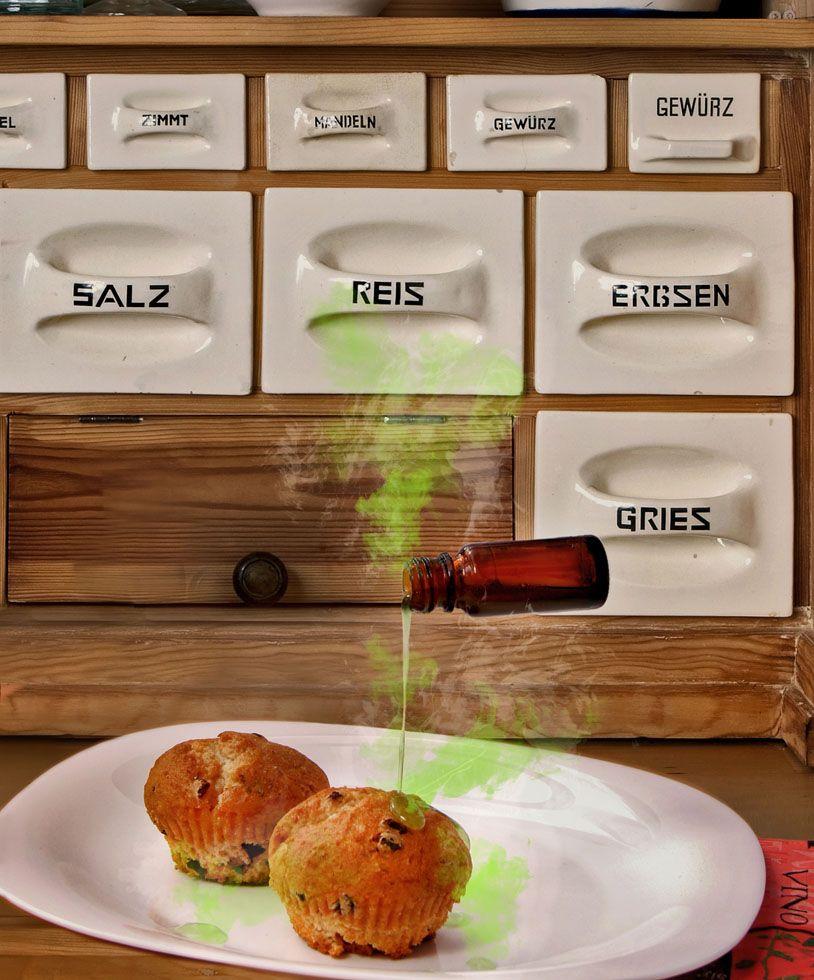 """Vergiftete Muffins - Artwork zu einem spannenden Kapitel des Fantasy-Epos """"Der siebte Kristall"""" von Wolfgang Zickler"""