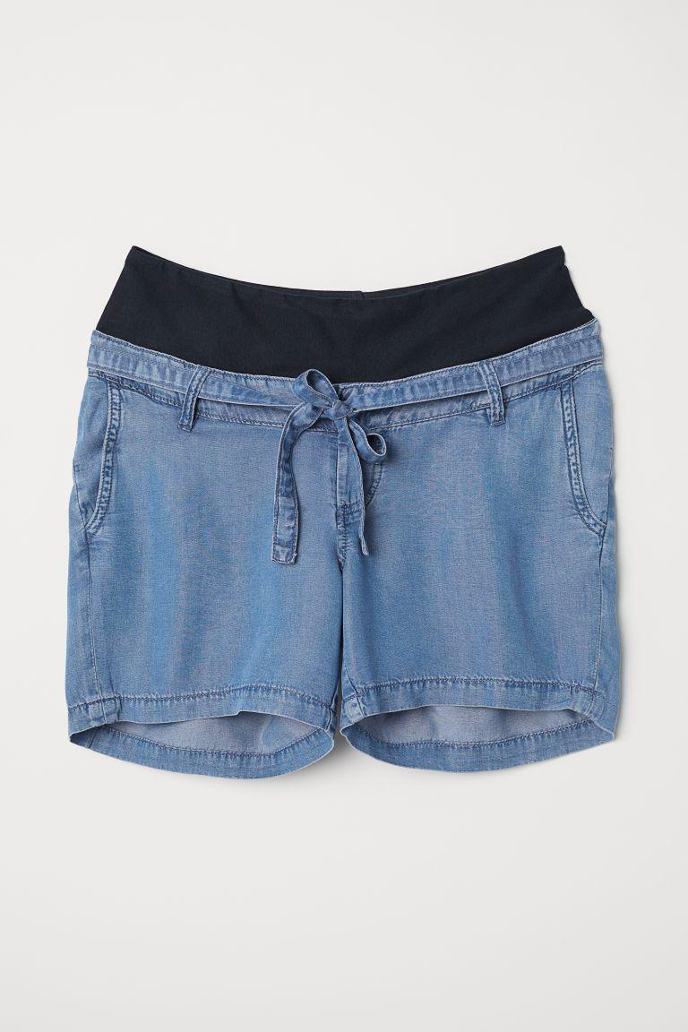 a339db5458 MAMA Short en lyocell | Dressing | Vêtement maternité, Vetements et H&m