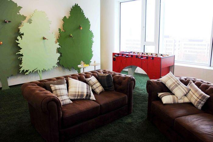 Les espaces de d tente les plus cool de la plan te for Salle de pause