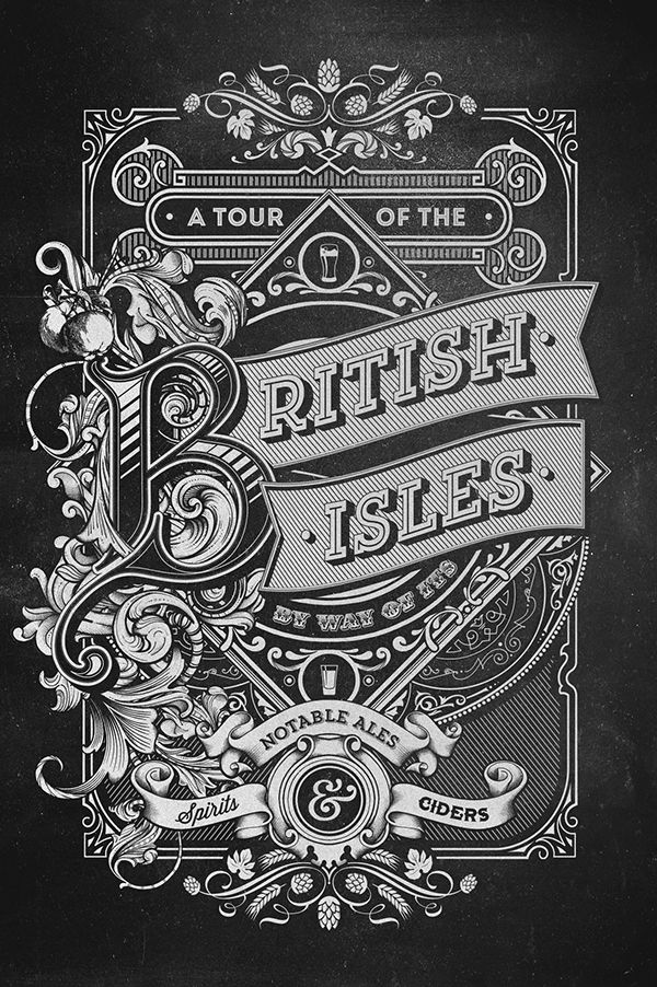 A Tour of the British Isles on Behance
