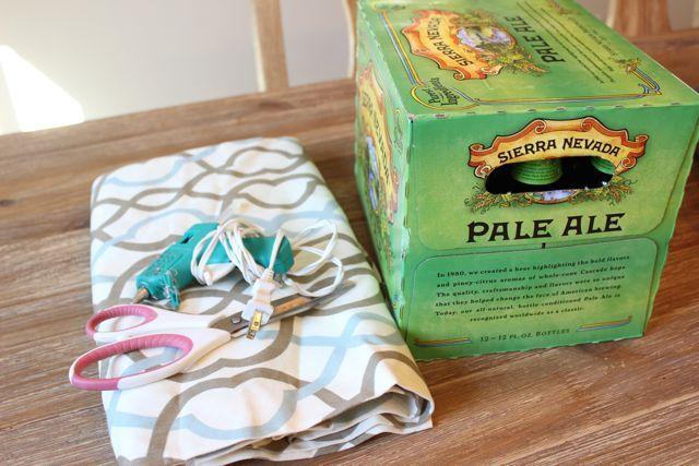 DIY Plastic Grocery Bag Storage Bin + Free Printable