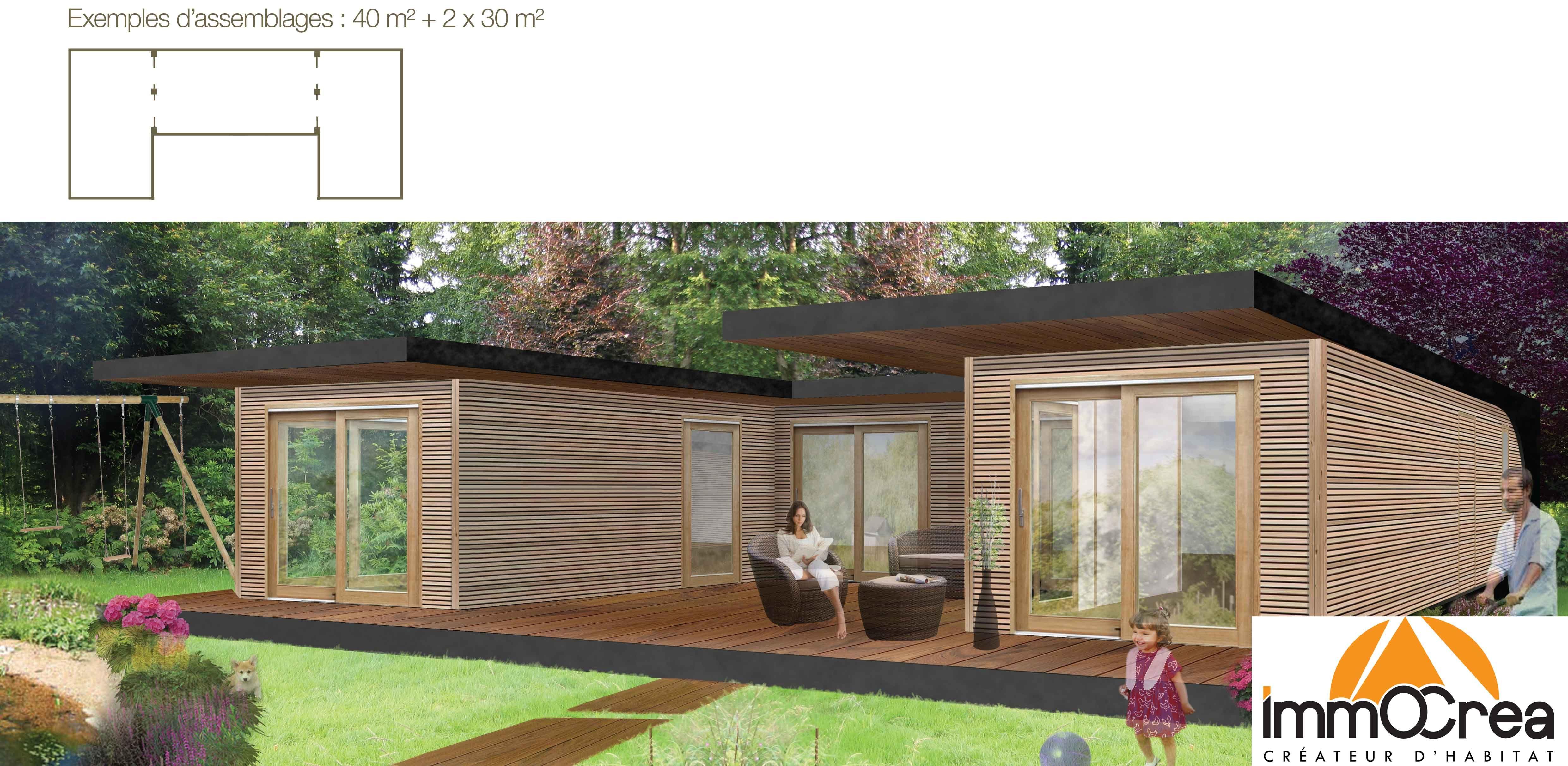 Maisons Ossature bois Immocréa Constructeur de Maisons Individuelles