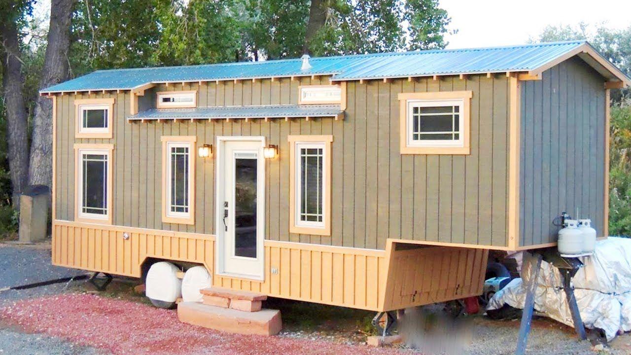 32 FT Turnkey Fifth wheel Gooseneck Tiny Home Lovely