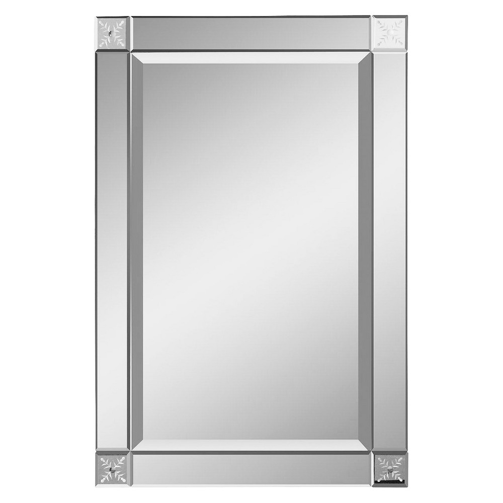 Rectangle emberlynn frameless decorative wall mirror uttermost rectangle emberlynn frameless decorative wall mirror uttermost clear amipublicfo Image collections