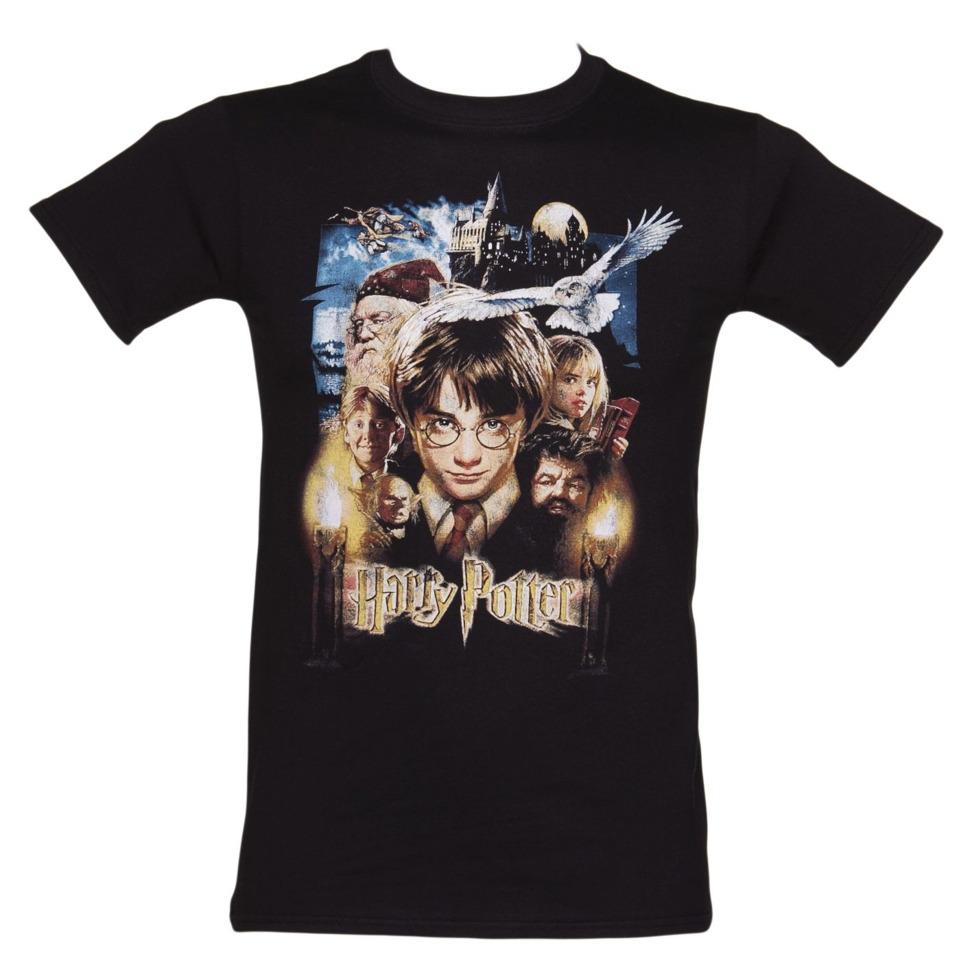 4478116ba0a Men's #HarryPotter and the Philosopher's Stone Movie Poster T-Shirt xoxo