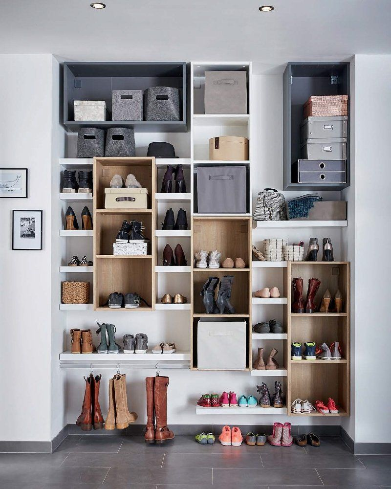 Guide maison n 2 id es maison pinterest guide - Idees rangement chaussures ...