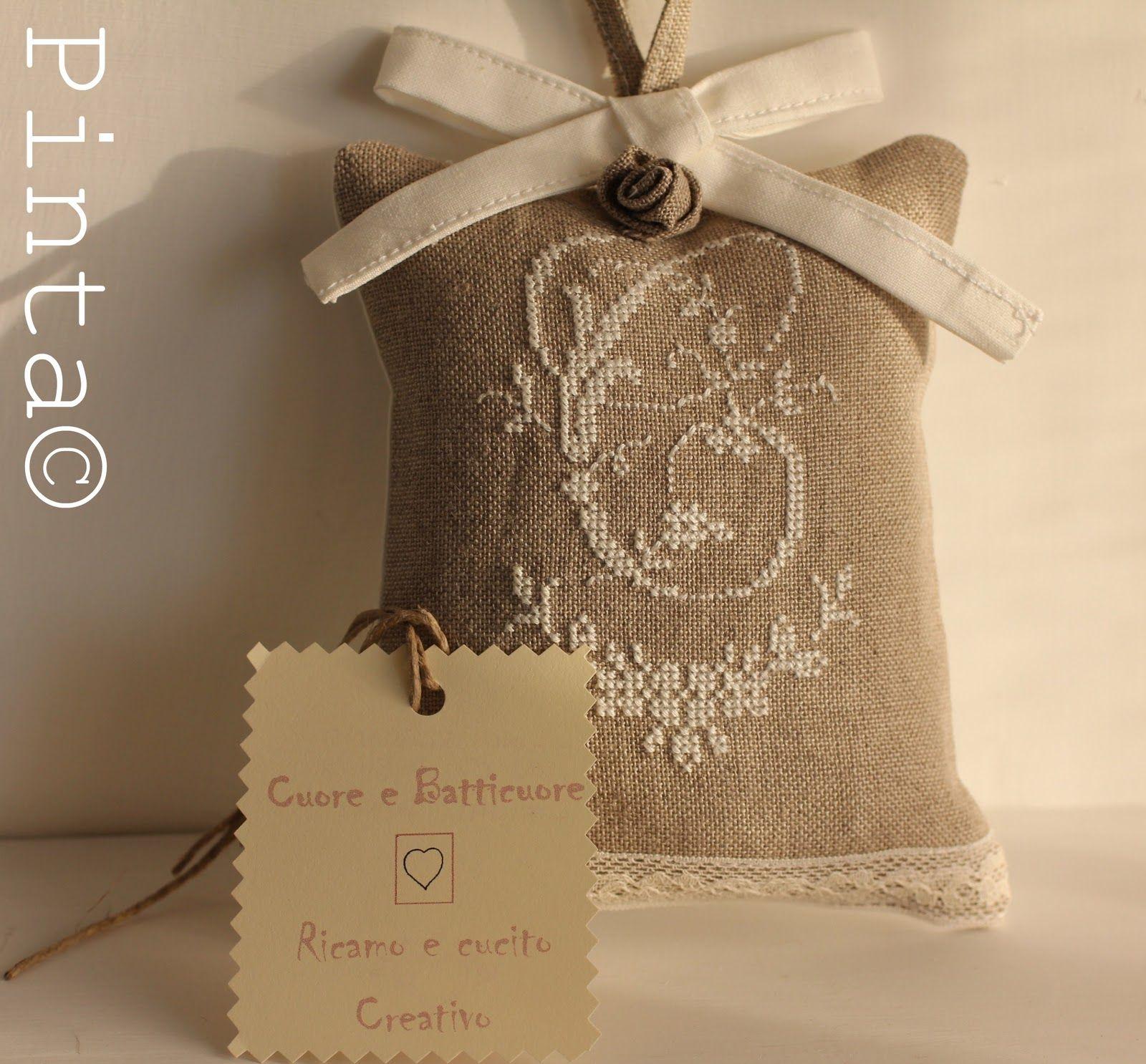 """""""Cuore e Batticuore"""" è il nome scelto da Carolina (model stitcher di Lilli Violette ) per le sue raffinate creazioni. quando Carolina apri..."""