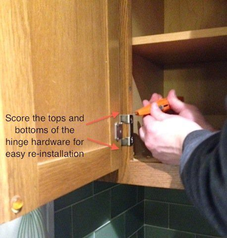 How To Refinish Kitchen Cabinets Part 1 Frugalwoods Craft And