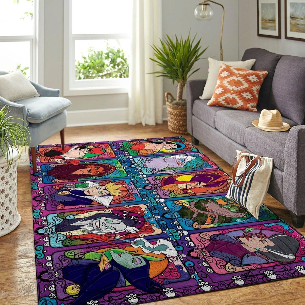 Pin By Shelby Stuart On Home In 2020 Disney Villains Area Rugs Rugs