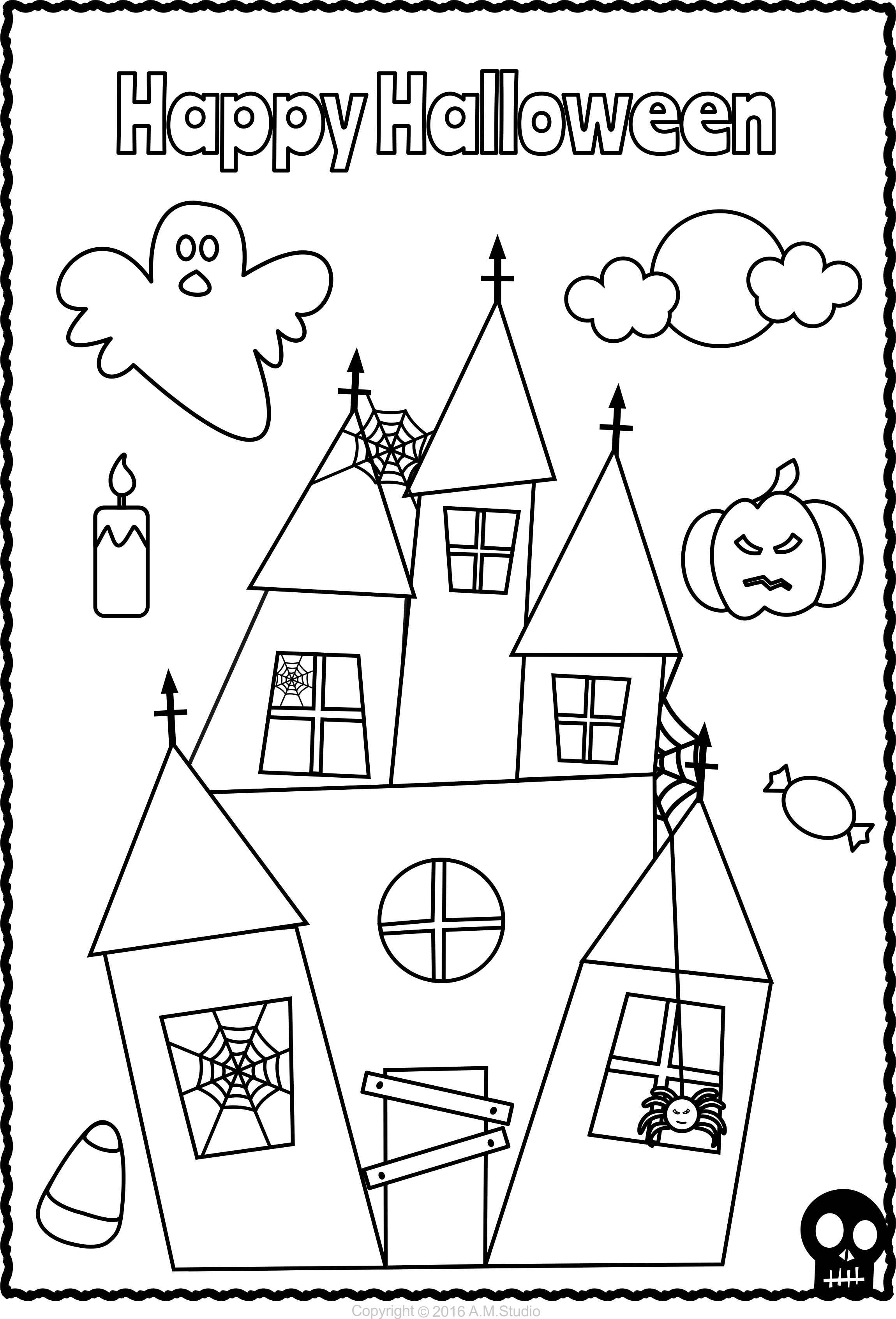 Halloween Coloring Pages