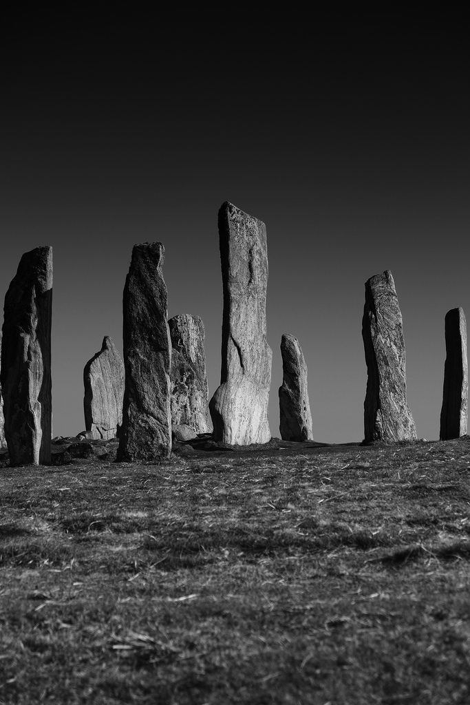 Isle of Harris, Outer Hebrides, Scotland Callanish Standing Stones (by Andrew Lockie)