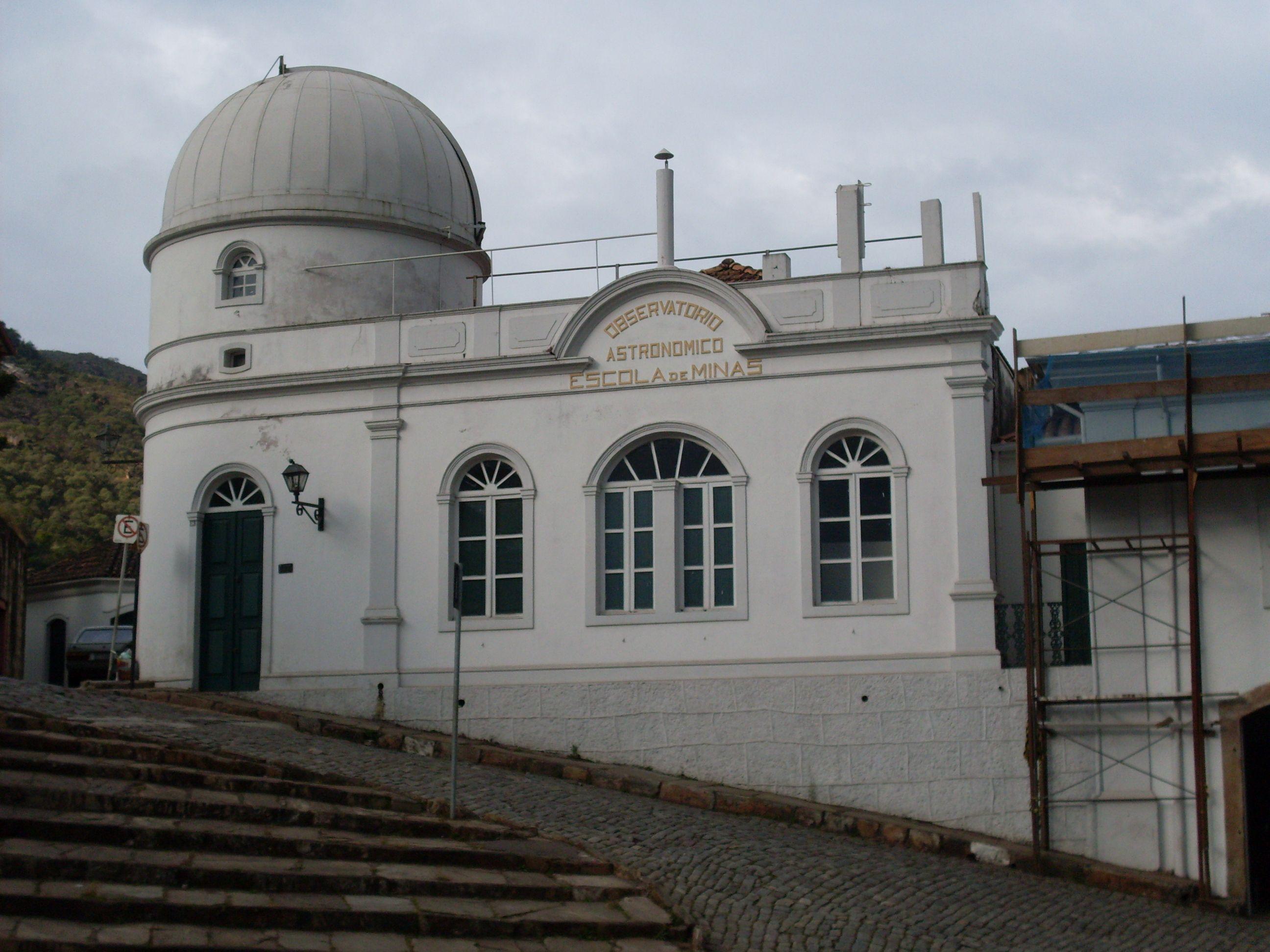Observatório astronômico da Escola de Minas Ouro Preto Minas Gerais Brazil