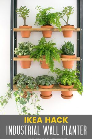 indoor herb garden ikea hack Make An Indoor Herb Planter - In 10 Minutes! | Planters