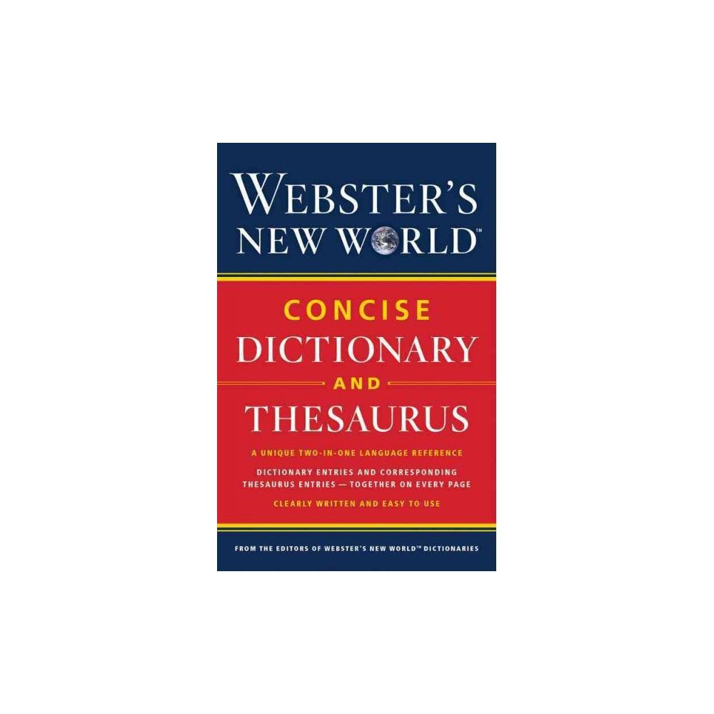 Webster's New World Concise Dictionary and Thesaurus (Paperback)