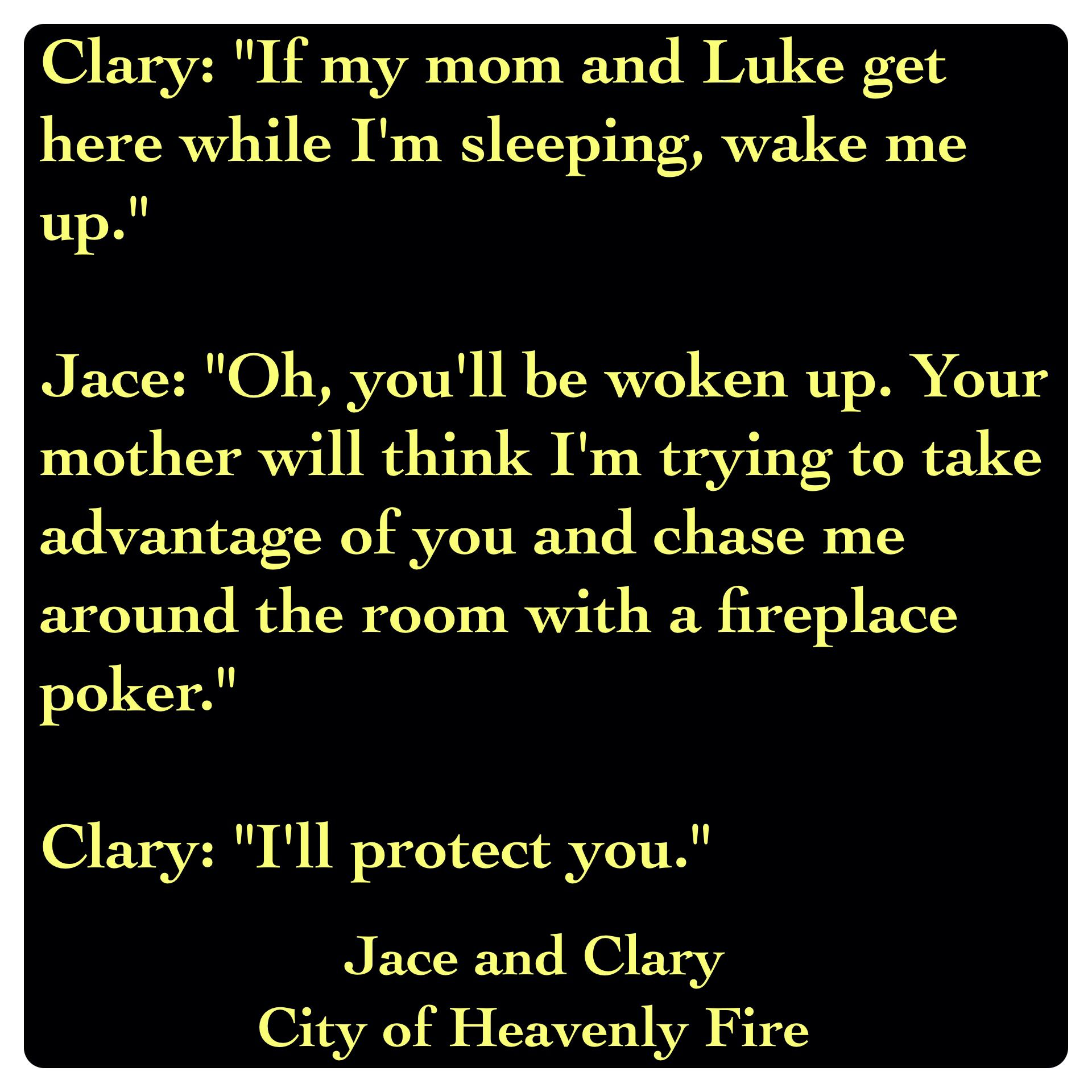 mortal instruments clary and jace relationship advice