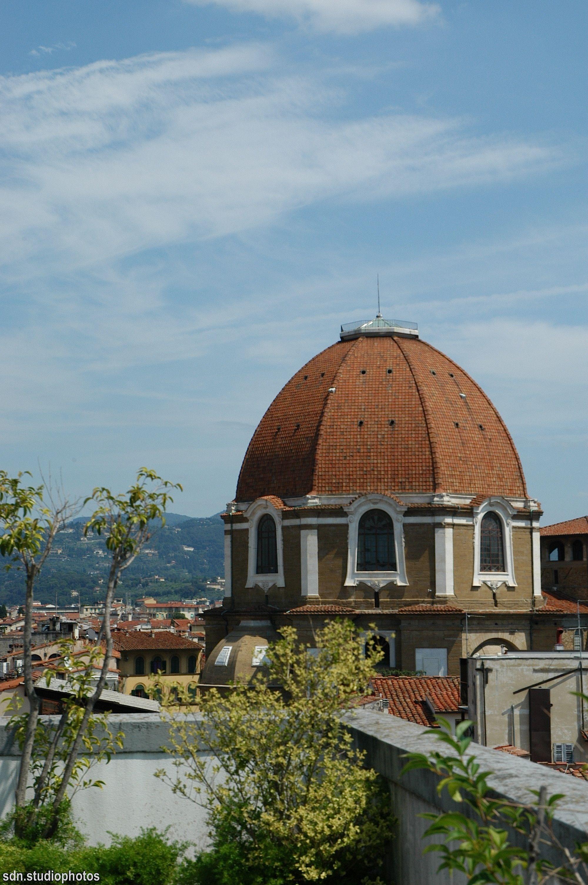 La Cupola Della Cappella Dei Principi Vista Dalla Terrazza