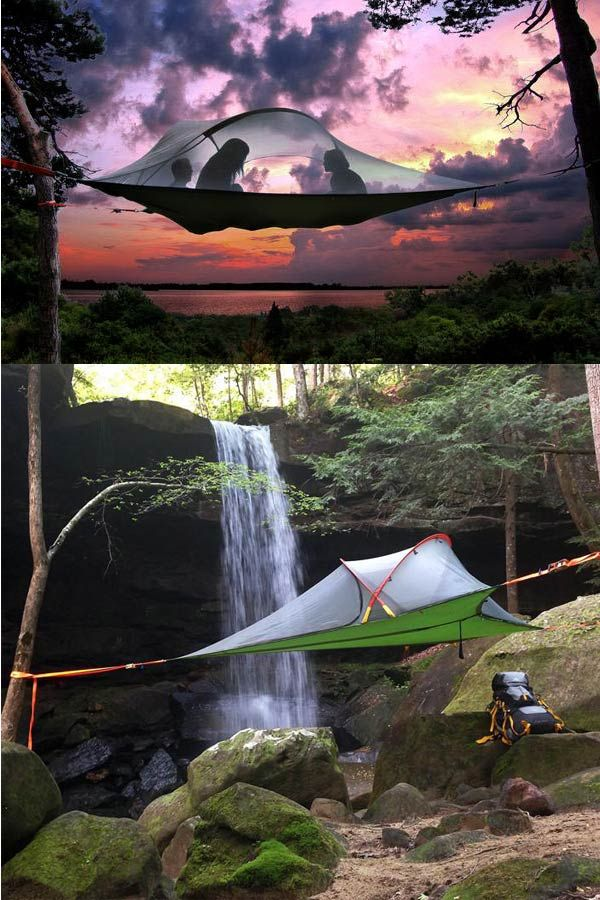suspended tree tent to set up c& above ground & suspended tree tent to set up camp above ground | Outdoor Gear and ...