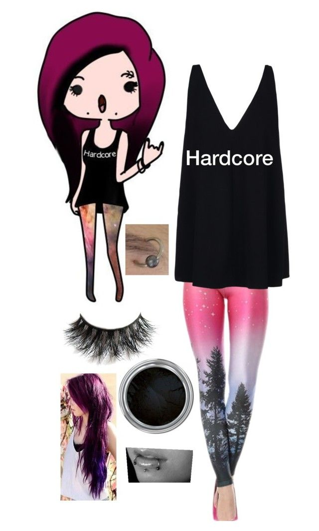 """Hardcore"" by emohipster ❤ liked on Polyvore featuring STELLA McCARTNEY"