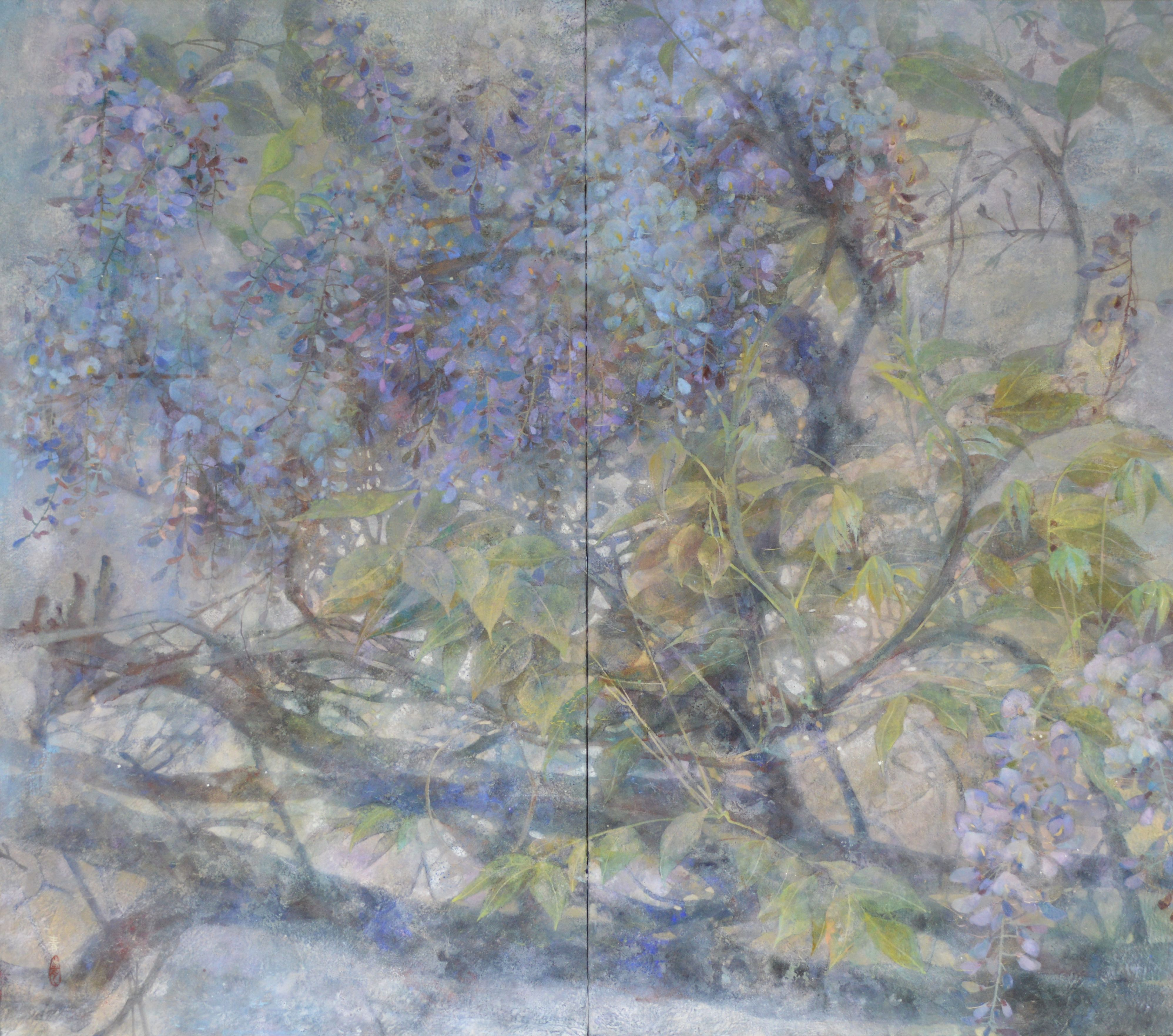 Le Temps Ecoule Japanese Painting Painting New Art