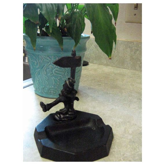 John Wright Cast iron Ash Tray And Bottle Opener by HomeIdaho, $35.00