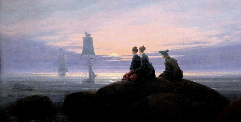 Hans Georg Gadamer Helderlin I Buduce Caspar David Friedrich Pintor Paisajista Estetica Caspar david friedrich wallpaper hd