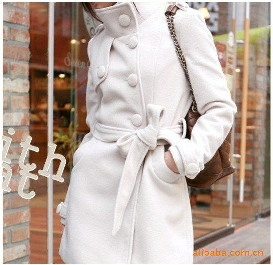 Free-shipping-Wool-cashmere-Women-s-winter-noble-double-breasted ...