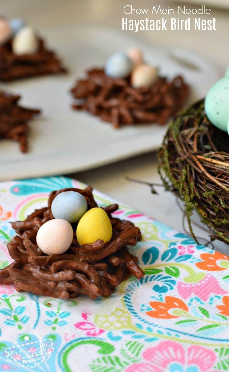 bird nest haystack cookie recipe with chow mein noodles