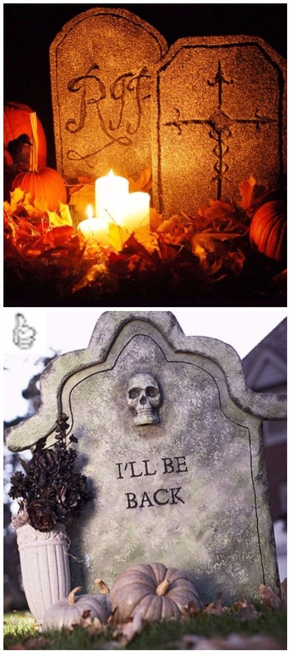 Easy DIY Halloween Decorating Ideas  Projects Tutorials Pinterest - Halloween Yard Decorations Ideas