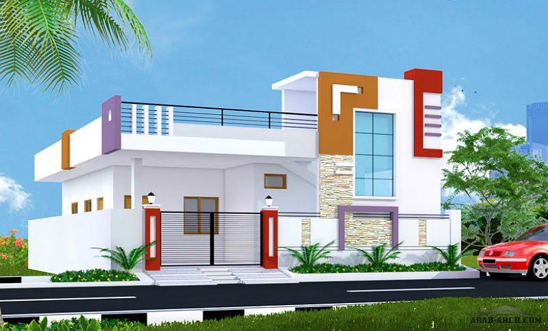 Arab Arch صفحة 116 House Front Design Small House Front Design House Design Pictures