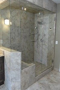 Tiling For Wet Steam Showers Google Search Shower Remodel