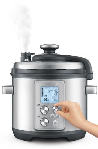 Preview Breville Launches Game Changing Pressure Cooker Breville Fast Slow Pro Cooker Best Multi Cooker