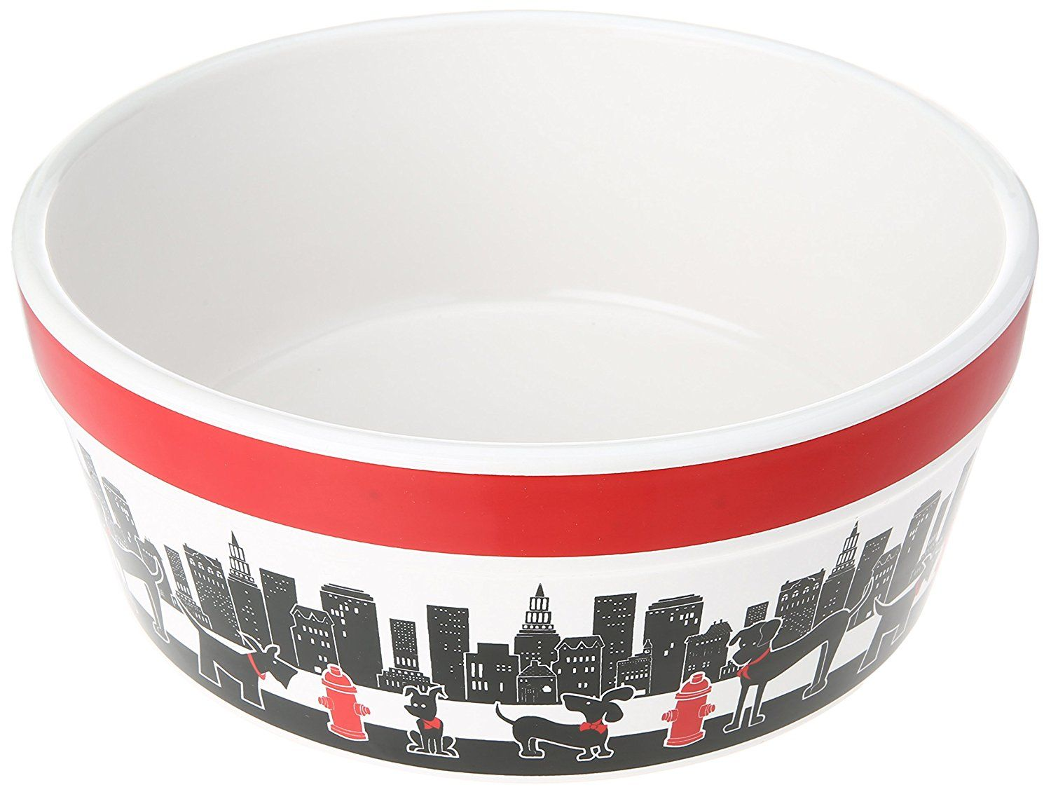 Signature Housewares City Pets Dog Bowl * Find out more
