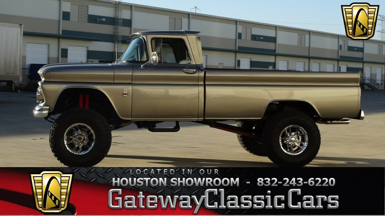1963 Chevrolet C20 - #301 - Gateway Classic Cars of Houston ...