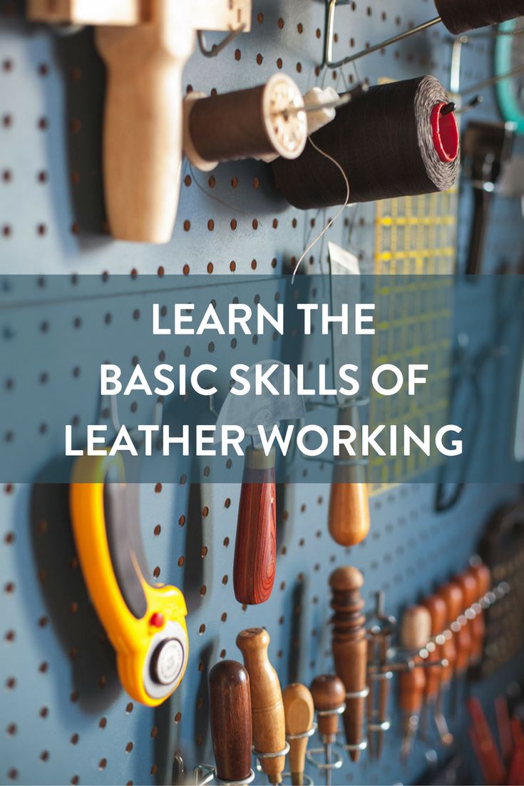 e0a2e7a52a9 Working with leather need not be intimidating. Like all disciplines of  craftsmanship, it s about understanding the material, a little technique,  ...