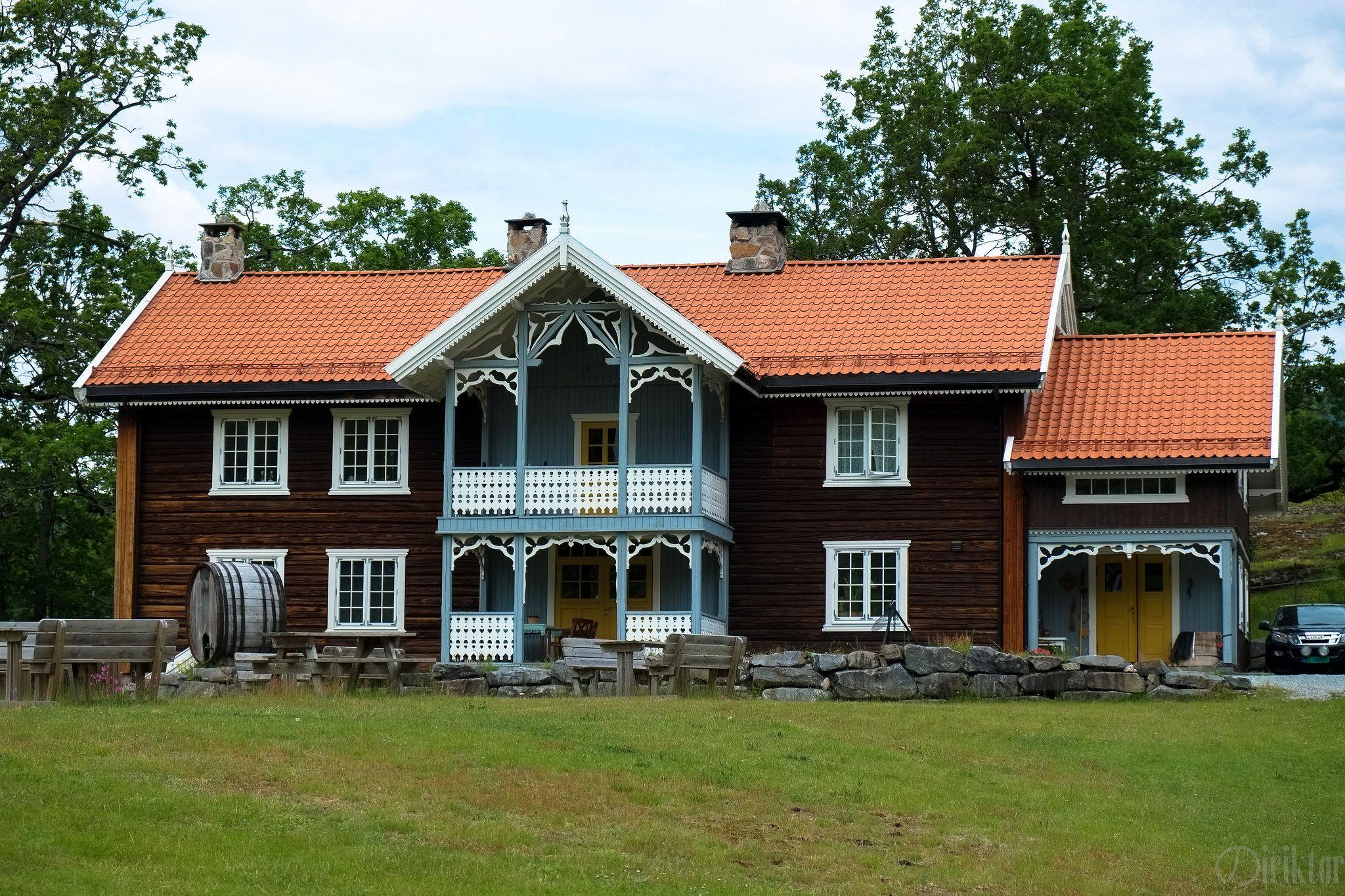 Veikåker gård | Vernacular architecture on norwegian farm life, norwegian apartment, norwegian open sandwich, norwegian outhouse, norwegian homestead,