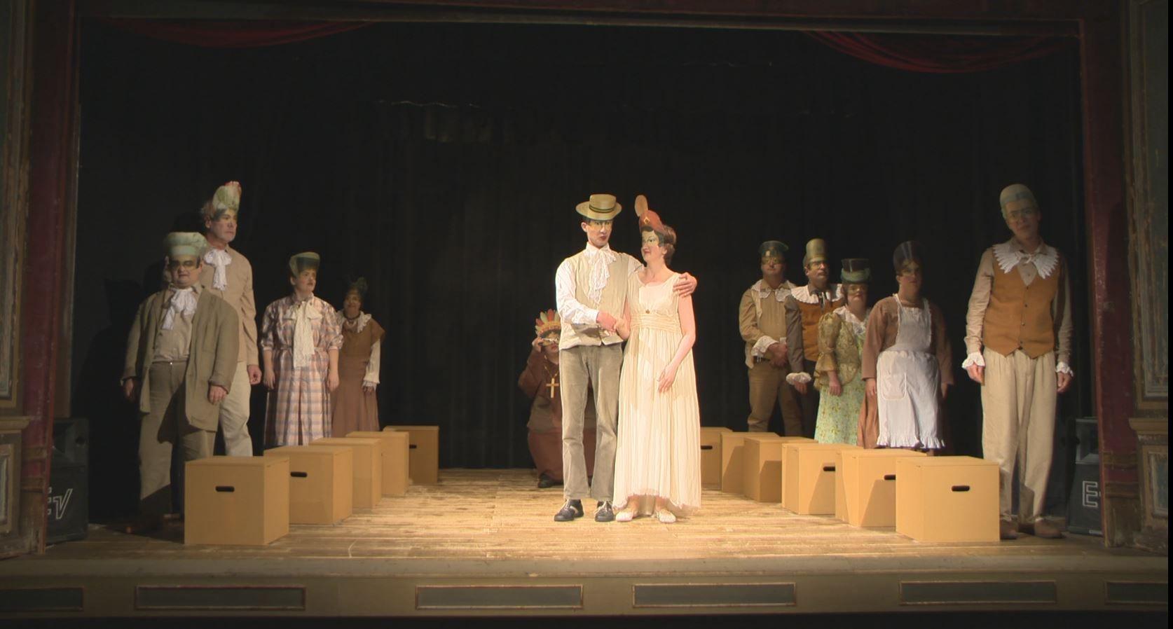 """""""Romeo & Julia"""" - Eine Produktion der Theatergruppe SOundSO der Lebenshilfe Grein  Mehr unter >>> http://goo.gl/CbmOVm"""