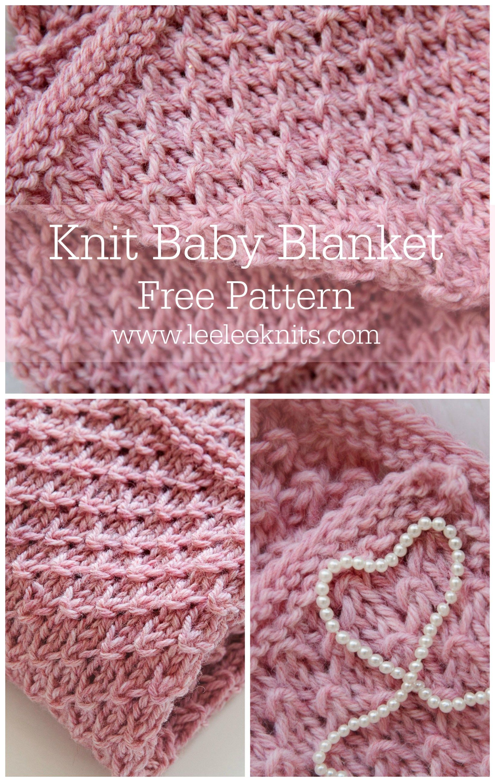 Free knitting pattern: Drops of Love Baby Blanket by Leelee Knits ...