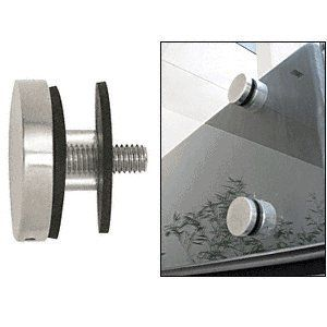 Best Crl Brushed Stainless 2 Glass Rail Standoff Cap Assembly 400 x 300