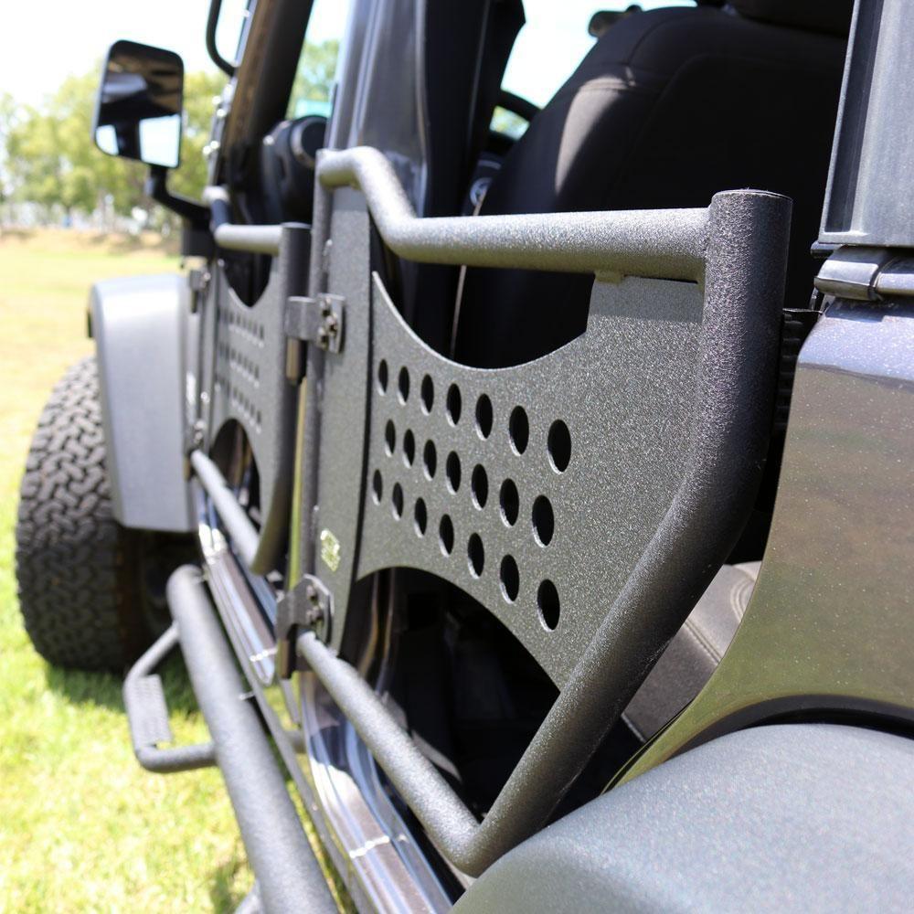 Tuff Stuff® Trail Doors, Rear, 07-18 Jeep® Wrangler JK (Pair) – Front