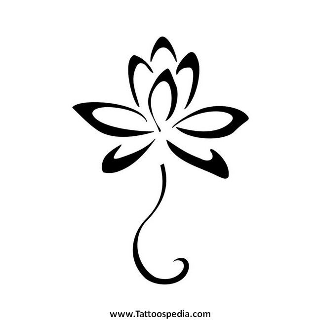Pin by toni windsor on tattoo pinterest flower tattoos lotus simple lotus flower tattoo the flower that blooms in adversity is the most rare and beautiful of all mightylinksfo