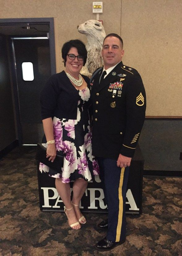 ARMY BANQUET AND ON THE EDGE OF THE WEEK LINK UP #10: This post is not just about a pretty dress. It's about a hot mess in a pretty dress...