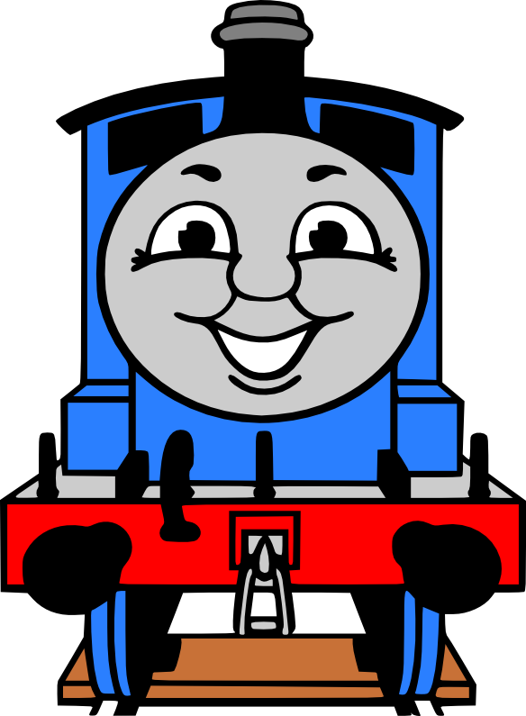 Crafting With Meek Thomas The Train SVG