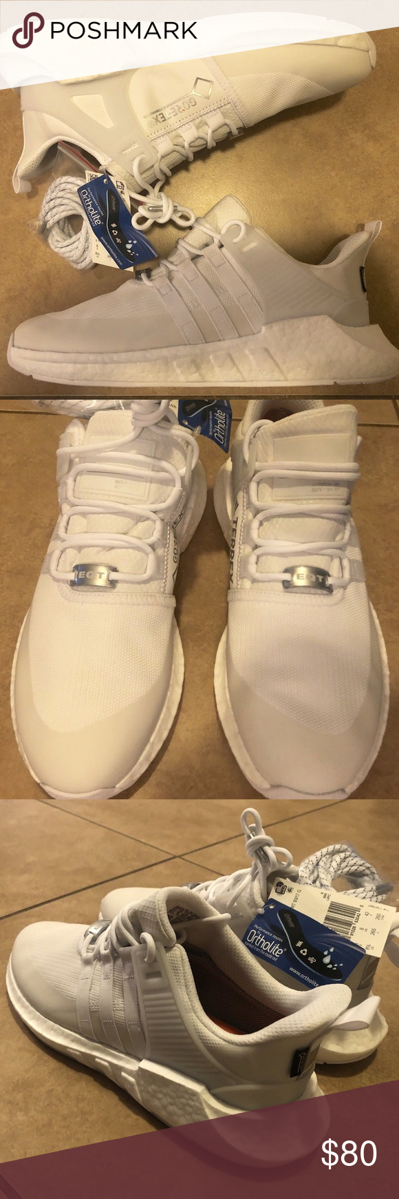 timeless design a0d5f fa09e Adidas Men s EQT Support Boost 93 17 GTX New Without Box. Adidas Equipment  ADV 91 17. White and Cream. Goretex. Boost adidas Shoes Sneakers
