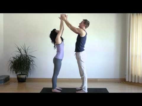 great beginner partner yoga