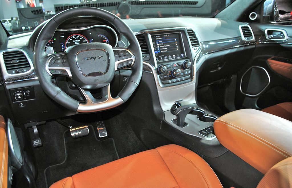 Charming Srt8 2014 Interior | 2014 Jeep Grand Cherokee SRT8 Interior Design
