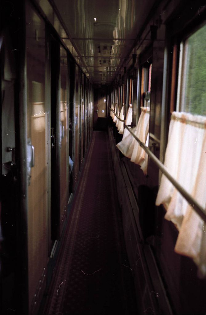 i love the old-world charm of traveling by train